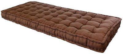 Futon Design - Matelas � ressorts-Futon Design-Matelas 90 x 190 cm FUTON Chocolat