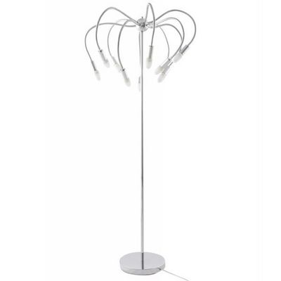 WHITE LABEL - Lampadaire-WHITE LABEL-Lampe de sol design Palmier