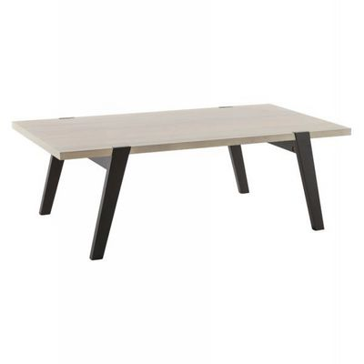 WHITE LABEL - Table basse rectangulaire-WHITE LABEL-Table basse design Hopp