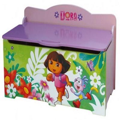 DORA - Coffre à jouets-DORA-Coffre  jouets DORA L'EXPLORATRICE