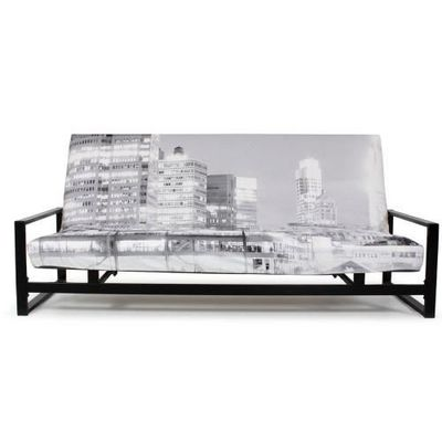 Futon Design - Banquette clic clac-Futon Design-Banquette Futon NEW YORK 3 places
