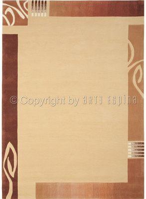 Arte Espina - Tapis contemporain-Arte Espina-Tapis de salon EASY GOING 3 beige 170x240 en Acryl
