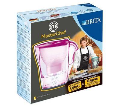 BRITA - Carafe filtrante-BRITA-Marella - tulipe - Carafe filtrante + Tablier Mast