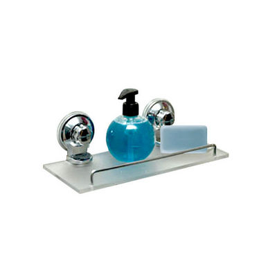 WHITE LABEL - Etagère de salle de bains-WHITE LABEL-Etagère en acrylique et 2 ventouses