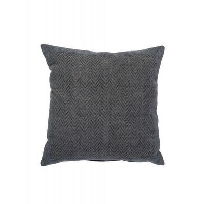 BLANC D'IVOIRE - Coussin carré-BLANC D'IVOIRE-NOE chevron