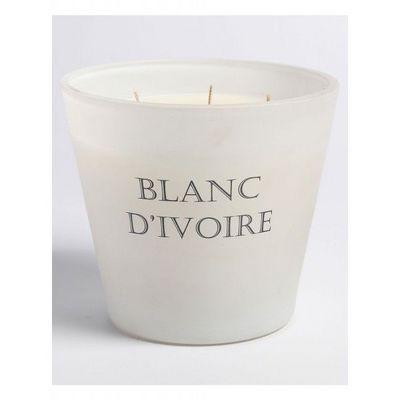 BLANC D'IVOIRE - Bougie parfum�e-BLANC D'IVOIRE-L'Impériale