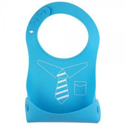 La Chaise Longue - Bavoir-La Chaise Longue-Bavoir silicone pliant Cravate