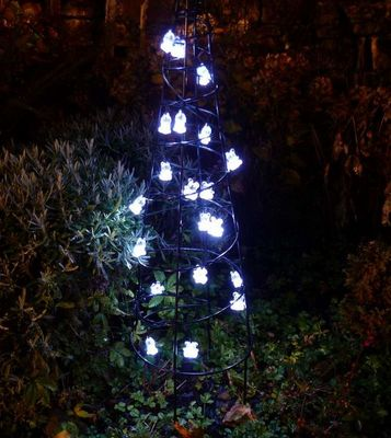 FEERIE SOLAIRE - Guirlande lumineuse-FEERIE SOLAIRE-Guirlande solaire nounours 20 leds blanches 3m80