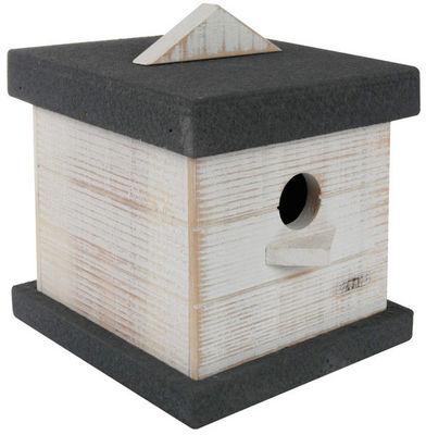 ZOLUX - Maison d'oiseau-ZOLUX-Nichoir pour oiseaux boréal en bois blanc 13,5x16,