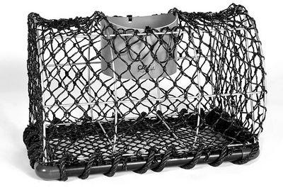 ADSEA NIEVRE - Panier de pêcheur-ADSEA NIEVRE-Casier à crustacés en acier galvanisé grand modèle