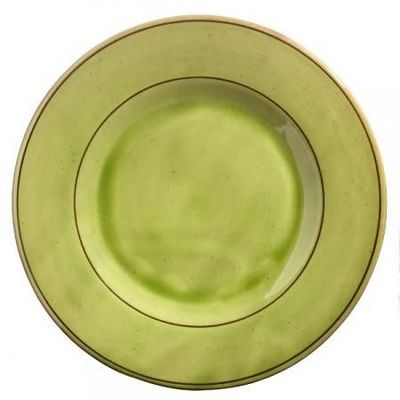 Barbotine - Assiette plate-Barbotine