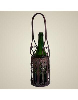 L'HERITIER DU TEMPS - Porte-bouteilles-L'HERITIER DU TEMPS-Porte bouteille unique en fer