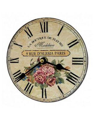L'HERITIER DU TEMPS - Horloge murale-L'HERITIER DU TEMPS-Horloge Miniature Madeleine 16,5cm