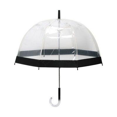 La Chaise Longue - Parapluie-La Chaise Longue-Parapluie transparent noir