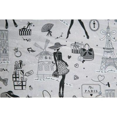 Le Quartier des Tissus - Tissu imprimé-Le Quartier des Tissus-Tissu Imprime la petite Robe de Paris