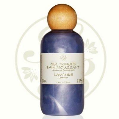 Savonnerie De Bormes - Gel douche-Savonnerie De Bormes-Gel douche, bain moussant Lavande - 250 ml - Savon