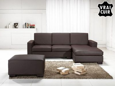 BELIANI - Canapé modulable-BELIANI-Sofa en cuir
