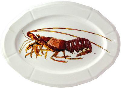 Gien - Plat à poisson-Gien