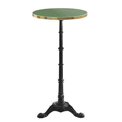 Ardamez - Mange debout-Ardamez-Mange debout émaillé rond / table haute / réséda