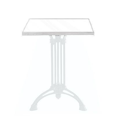 Ardamez - Plateau de table bistrot-Ardamez-Plateau de table de bistrot émaillée / blanc
