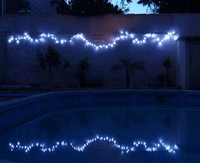 FEERIE SOLAIRE - Guirlande lumineuse-FEERIE SOLAIRE-Guirlande solaire Blanche � clignotements 100 Leds
