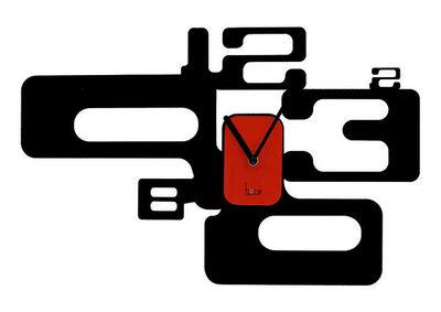 HORA - Horloge murale-HORA-Horloge murale Style 60s