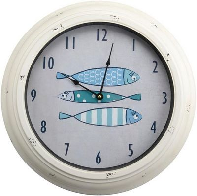 Amadeus - Horloge murale-Amadeus-Horloge d�co Poissons