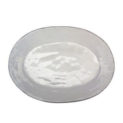 Interior's - Plat ovale-Interior's-Plat blanc