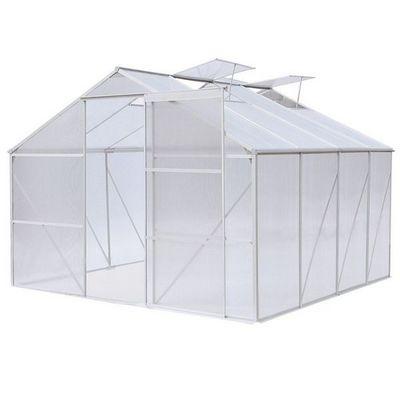 WHITE LABEL - Serre-WHITE LABEL-Serre polycarbonate 370 x 190 cm 7 m2