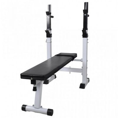 WHITE LABEL - Banc de musculation-WHITE LABEL-Banc de musculation pliable pour abdominaux