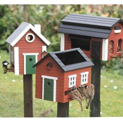 Wildlife Garden - Maison d'oiseau-Wildlife Garden