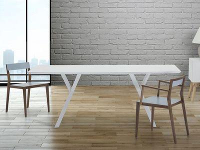 BELIANI - Table de repas rectangulaire-BELIANI-Lisala
