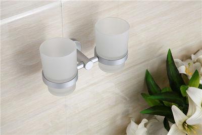 UsiRama.com - Porte-brosses à dents-UsiRama.com-Coffret Porte-verre mural et 2 Gobelet