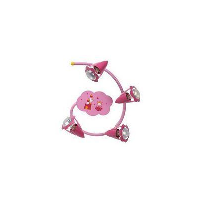 LUCIDE - Luminaire enfant-LUCIDE-Plafonnier spirale enfant Pinky