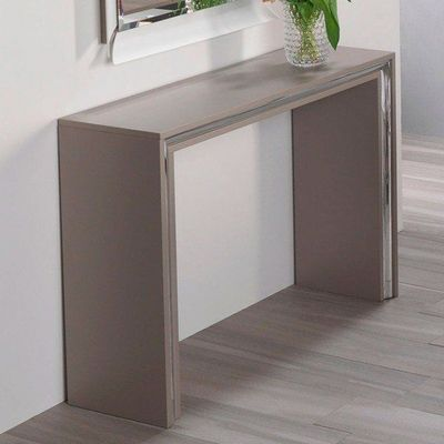 WHITE LABEL - Console-WHITE LABEL-Console design ARCHIMEDE taupe