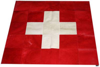 Tergus - Tapis contemporain-Tergus-Tapis peau de vache Suisse