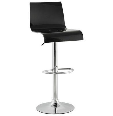 KOKOON DESIGN - Chaise haute de bar-KOKOON DESIGN-Tabouret hauteur réglable Plexi