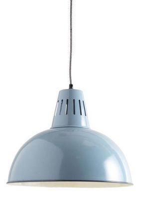 Aubry-Gaspard - Suspension-Aubry-Gaspard-Lampe suspension vintage en métal laqué
