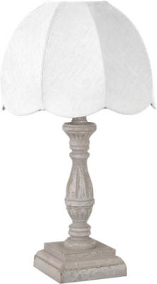 Amadeus - Lampe � poser-Amadeus-Lampe de chevet r�tro Lin Blanc