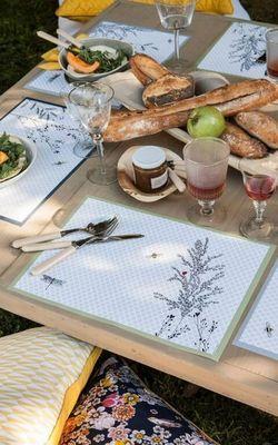 Alexandre Turpault - Set de table-Alexandre Turpault-Jardin des plantes