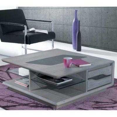 Ateliers De Langres - Table basse carrée-Ateliers De Langres-Table basse carrée CERAM