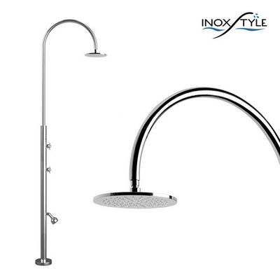 INOXSTYLE - Douche d'extérieur-INOXSTYLE-Aria Cylinder L Beauty