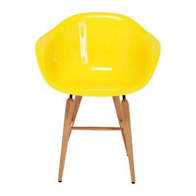 Kare Design - Chaise-Kare Design-Chaise avec accoudoirs Forum jaune