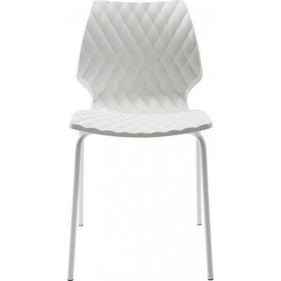 Kare Design - Chaise-Kare Design-Chaise Radar Bubble blanche