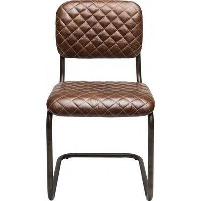 Kare Design - Chaise-Kare Design-Chaise Cantilever marron