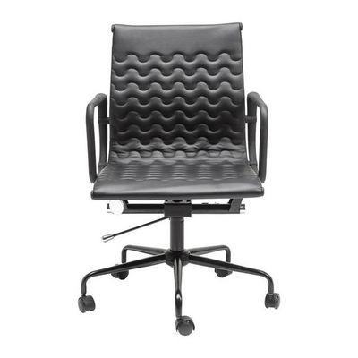 Kare Design - Chaise de bureau-Kare Design-Chaise de bureau pivotante Wave noire