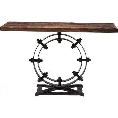 Kare Design - Console-Kare Design-Console en bois Industrial Ring 134 cm
