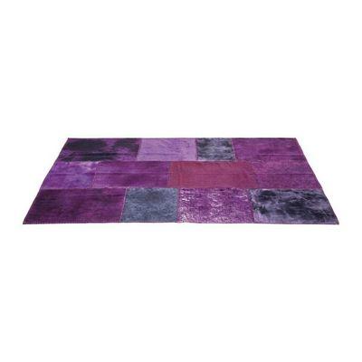 Kare Design - Tapis contemporain-Kare Design-Tapis Patchwork Violet 170x240cm