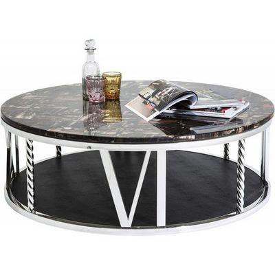 Kare Design - Table basse forme originale-Kare Design-Table Basse Ronde Numerics 105 cm