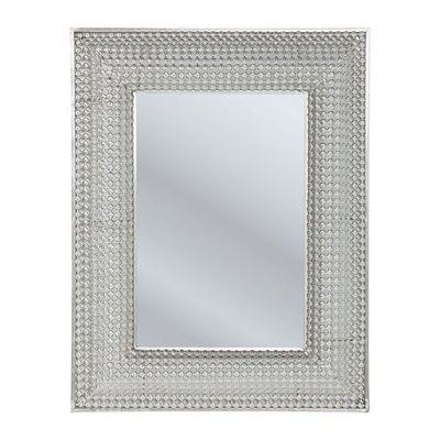 Kare Design - Miroir-Kare Design-Miroir Silver Pearls 90x70cm